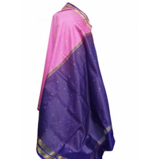 Purple Pink Sari