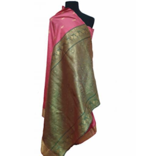 Bright Pink Sari