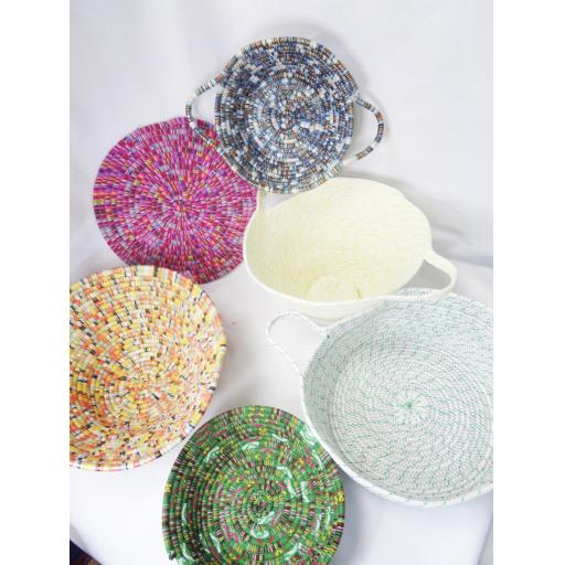 Coiled Rope & Cord Bowls & Mats Pattern
