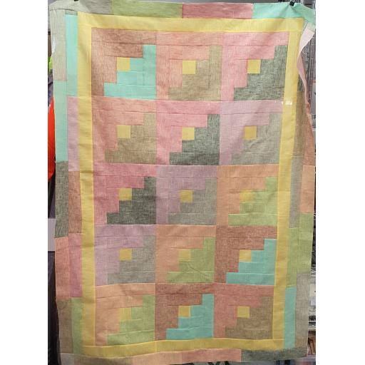 Log Cabin Quilt Kit and Pattern