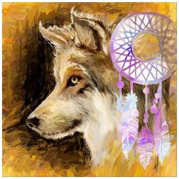 Wolf and Dreamcatcher.jpg